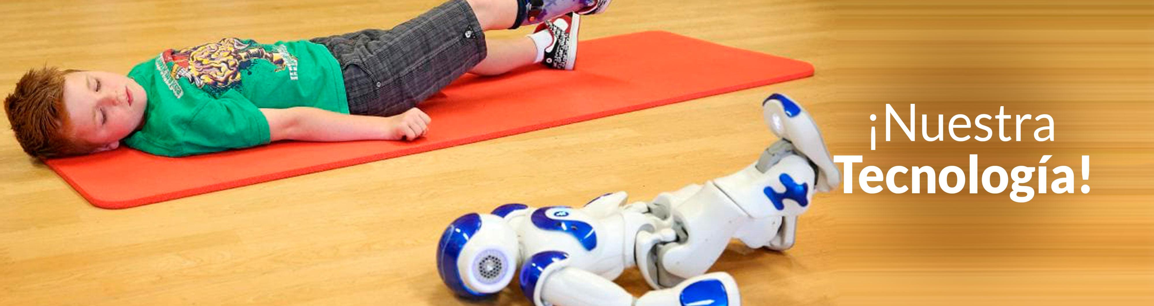 Robot Nao para terapia en Centros de Rehabilitación